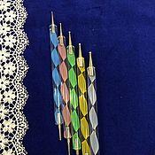 Материалы для творчества ручной работы. Ярмарка Мастеров - ручная работа Шарики1 бульки, гантельки, для пластики, лепки цветов, кукол, миниатюр. Handmade.