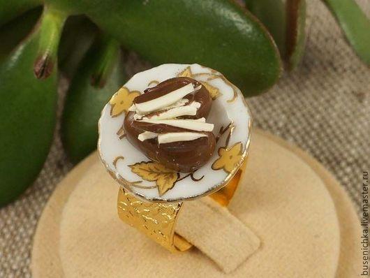 Кольца ручной работы. Ярмарка Мастеров - ручная работа. Купить Кольцо Десерт №9. Handmade. Авторское кольцо