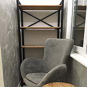 Для дома и интерьера handmade. Livemaster - original item Custom-made loft style shelving. Handmade.