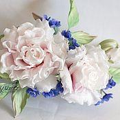 Цветы и флористика handmade. Livemaster - original item Silk flowers. Set of accessories