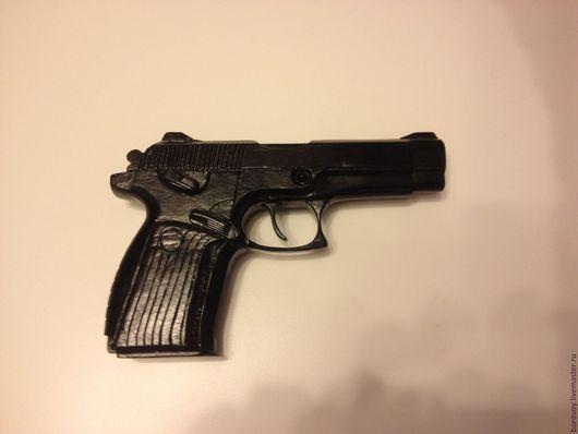 """Оружие ручной работы. Ярмарка Мастеров - ручная работа. Купить Макет пистолета """"Грач"""". Handmade. Черный, копия пистолета, железо"""