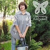"""Одежда ручной работы. Ярмарка Мастеров - ручная работа Рубаха-блуза """"Прованс с изюминкой""""-3. Handmade."""