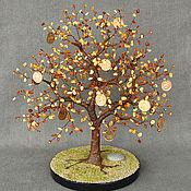 Цветы и флористика handmade. Livemaster - original item Money tree from Baltic amber. Handmade.
