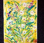 Картины и панно handmade. Livemaster - original item Summer gold.. Handmade.