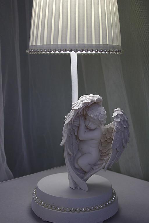 """Освещение ручной работы. Ярмарка Мастеров - ручная работа. Купить Авторский светильник """"АНГЕЛ"""". Handmade. Ангел, авторский светильник, ночник"""