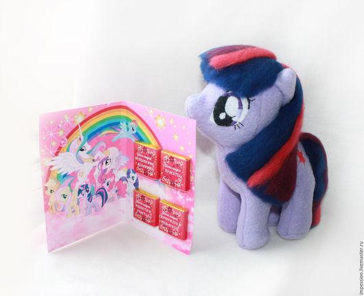 """Сказочные персонажи ручной работы. Ярмарка Мастеров - ручная работа. Купить Подарочный детский набор """"My little pony"""". Пони Искорка. Handmade."""