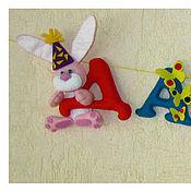 Куклы и игрушки ручной работы. Ярмарка Мастеров - ручная работа Имена из фетра для ДЕВОЧЕК. Handmade.