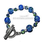 Украшения handmade. Livemaster - original item bracelet the Earth. Handmade.