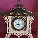 Часы для дома ручной работы. Ярмарка Мастеров - ручная работа. Купить Настольные часы. Handmade. Желтый, часы, дерево