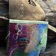Женские сумки ручной работы. Сумка Лесная. Мастерская ГришЛАНдия (grishlandia). Ярмарка Мастеров. Листья, ткань хлопок