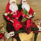 """Куклы и игрушки ручной работы. Ярмарка Мастеров - ручная работа Кукла тильда """"Дед Мороз"""". Handmade."""