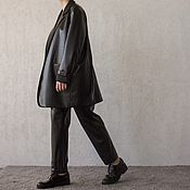 Одежда handmade. Livemaster - original item Women`s suit with a loose fit Vertu. Handmade.