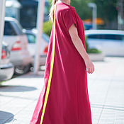 Одежда handmade. Livemaster - original item Maxi dress, Summer DR0097W2. Handmade.
