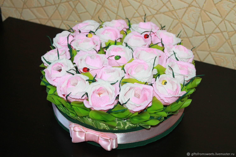 """Букет из конфет """"Нежность"""", Съедобные букеты, Самара,  Фото №1"""