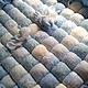 """Пледы и одеяла ручной работы. Заказать Матрасик на пеленальный столик """"Blue ocean"""". Дроздова Алла (drozdova-alla). Ярмарка Мастеров."""
