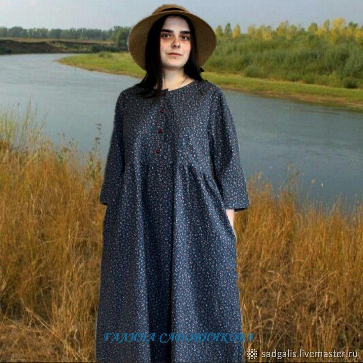 dresses: Dress free cut ' Lingonberry', Dresses, Borskoye,  Фото №1