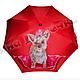 """Зонты ручной работы. Зонт с ручной росписью """"Йорк"""" (йоркширский терьер). BelkaStyle -кеды, футболки, зонты. Интернет-магазин Ярмарка Мастеров."""