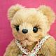 Мишки Тедди ручной работы. Ярмарка Мастеров - ручная работа. Купить Мишка Маруся. Handmade. Бежевый, мишка в одежке, проволока