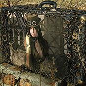 Субкультуры handmade. Livemaster - original item Steampunk suitcase. Handmade.