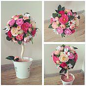 Цветы и флористика ручной работы. Ярмарка Мастеров - ручная работа Розовый закат. Handmade.
