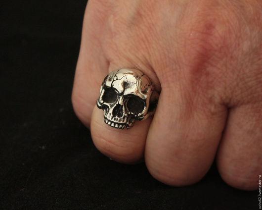 Кольца ручной работы. Ярмарка Мастеров - ручная работа. Купить Кольцо череп. Handmade. Череп, ювелирное изделие