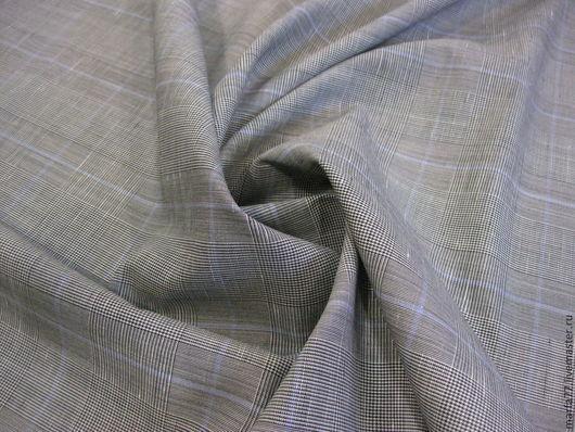 Шитье ручной работы. Ярмарка Мастеров - ручная работа. Купить Итальянская шерсть с шелком.. Handmade. Серый, костюмная шерсть, тканиландия