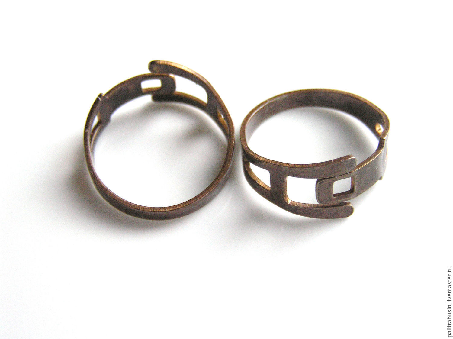 The basis for the Vintaj ring, Blanks for jewelry, Tyumen,  Фото №1