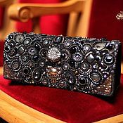 Сумки и аксессуары handmade. Livemaster - original item clutch bag Royal