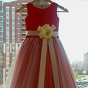 Платье ручной работы. Ярмарка Мастеров - ручная работа Нарядное детское платье. Handmade.