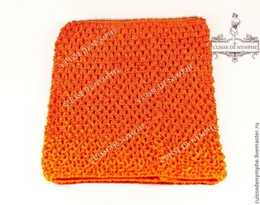 Шитье ручной работы. Ярмарка Мастеров - ручная работа. Купить Топ средний, оранжевый, 4004. Handmade. Топ, топ акриловый