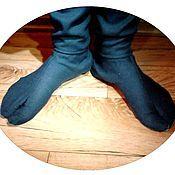 Носки ручной работы. Ярмарка Мастеров - ручная работа Таби (ниндзя-шузы), традиционные японские носки. Handmade.