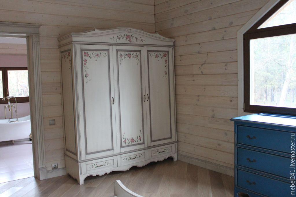 Изготовление мебель в стиле прованс