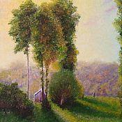 Картины и панно handmade. Livemaster - original item Painting landscape Colorful sunset oil painting. Handmade.