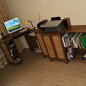 Для дома и интерьера ручной работы. Ярмарка Мастеров - ручная работа Стол компьютерный. Handmade.