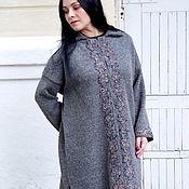 Одежда handmade. Livemaster - original item Cardigan-coat the Thaw-2 100% wool. Handmade.
