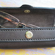 Сумки и аксессуары handmade. Livemaster - original item cases: Luxury leather eyeglass case. Handmade.