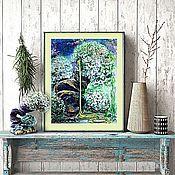 Картины и панно handmade. Livemaster - original item Fairy forest, watercolor. Handmade.