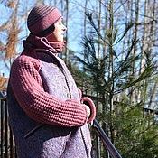 """Одежда ручной работы. Ярмарка Мастеров - ручная работа Авторское валяное полупальто-реглан """"Прогулки по весне"""". Handmade."""