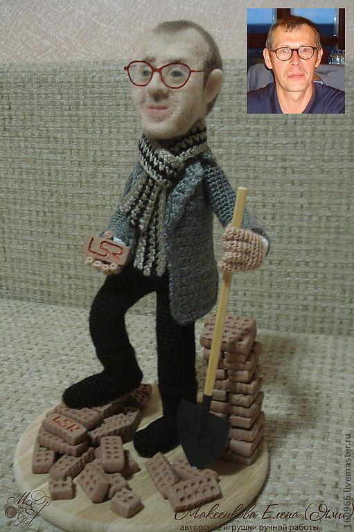 Портретные куклы ручной работы. Ярмарка Мастеров - ручная работа. Купить Портретная кукла. Handmade. Портретная кукла, шарж по фото