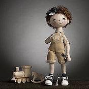 """Материалы для творчества ручной работы. Ярмарка Мастеров - ручная работа Набор для шитья """"Кукла Андрюша"""" Модное Хобби. Handmade."""