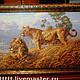 Животные ручной работы. Ярмарка Мастеров - ручная работа. Купить вышивка крестом Африканские львы. Handmade. Вышивка крестом