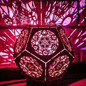 Для дома и интерьера handmade. Livemaster - original item Interior lamp night light made of wood
