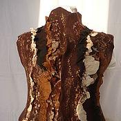 Одежда ручной работы. Ярмарка Мастеров - ручная работа Жилет валяный в бохо стиле.. Handmade.