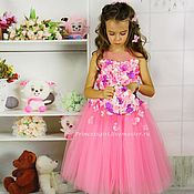 Dress handmade. Livemaster - original item Fancy dress for girls. Handmade.