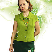 """Одежда handmade. Livemaster - original item Knitted suit """"Daisy miniature"""". Handmade."""