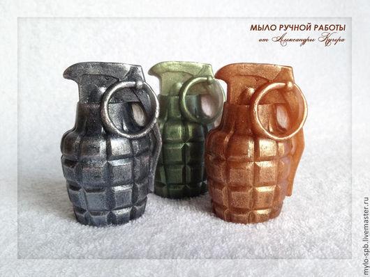 """Мыло ручной работы. Ярмарка Мастеров - ручная работа. Купить """"Граната"""", 3D, мыло ручной работы. Handmade."""
