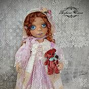 Куклы и игрушки ручной работы. Ярмарка Мастеров - ручная работа Миленочка, текстильная куколка.. Handmade.