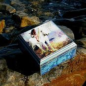 Для дома и интерьера handmade. Livemaster - original item The box is a Mysterious forest spirit - 2 :). Handmade.