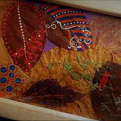 Картины и панно ручной работы. Ярмарка Мастеров - ручная работа осенняя картина. Handmade.