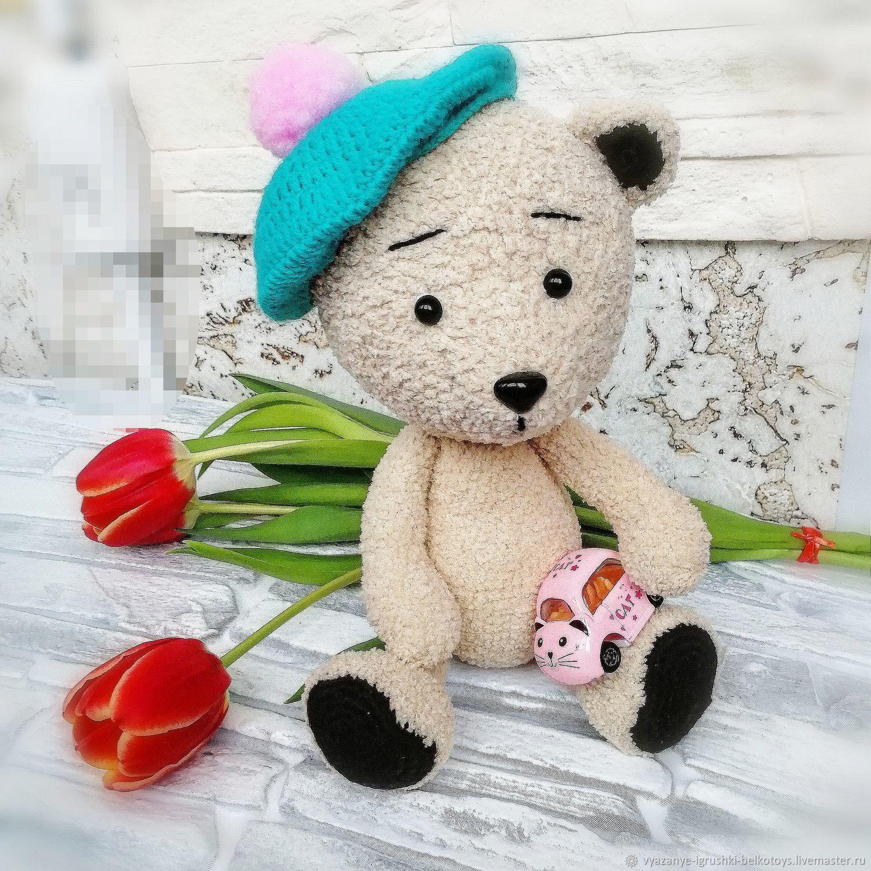 мишутка в берете, Мишки Тедди, Санкт-Петербург,  Фото №1